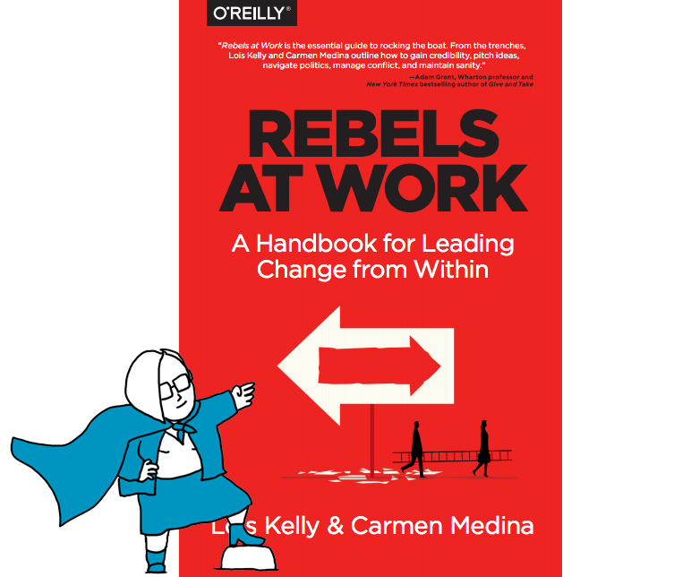 Rebels at work book cover on Businessgoessocial.net website